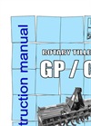 Model GP - Rotary Cultivators Brochure