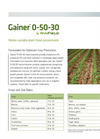 Gainer - 0-50-30 - Phosphate Fertilizer Brochure