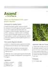 Ascend - - Plant Growth Regulator  Brochure