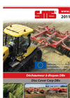 Model DB 300 & DB 350 N/P - Disc Cover Corp Disc Harrows Brochure