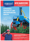 Model Keto-600 - Harvester Head Brochure