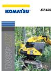 Komatsu XT430-3 & XT430L-3 Tracked Harvesters - Brochure