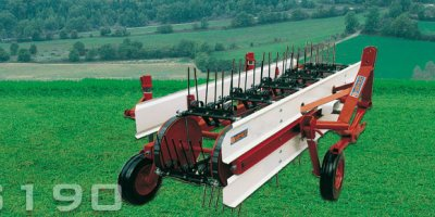 Model GS190 - Belt Rake