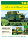 Model MKC 4TR - Self-Propelled Container Mowers- Brochure