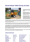 Stump Grinders - HB20 Brochure