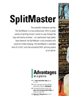 SplitMaster - Model 20 - Horizontal Splitter Brochure