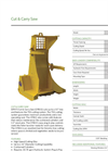 Model CFB11 - Cut & Carry Saw - Datasheet