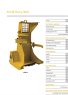 Model CFB16 - Cut & Carry Saw - Datasheet