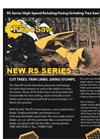RS Series High-Speed Rotating/Swing/Grinding Tree Saw for Skid Steers - Brochure