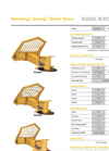 Model RS2600, RS3000, RS3400  - Rotating/ Swing/ Grind Saws - Datasheet