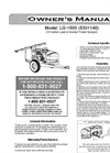 LC-1500 - 15 Gallon Lawn & Garden Trailer Sprayer Brochure