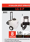 Model LG-8-P - Lithium Ion Sprayer Brochure