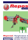 Model 6000FP - Hydraulic Comb Side-Delivery Rake- Brochure