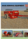 Rock Windrowers - Model RW850 and RW1200 - Rock Picker Brochure
