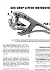 Gaterman - Model 2HC - Crop Lifter Brochure