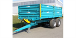 Rolland - Model BH 100 - Vegetables Trailers, Forage Boxes