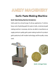 Garlic Paste Making Machine for sale