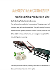 Garlic Grading Sorting Machine