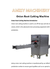Onion Root &Stem Removing Machine