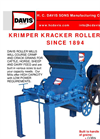 Single High Roller Mills Brochure