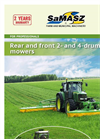 Rear - Z 010 - Drum Mowers Brochure