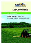 Rear - KDT series - Disc Mowers Brochure