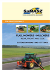 Model EMU 160 S - Self-Collecting Flail mower with Container- Brochure