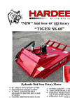 TIGER - SS-60 - Rotary Mower Brochure