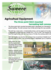 3-Point Heavy Duty Harvesting Belt Machine Brochure