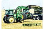 Model 100, 110, 200, & 210 - Accumulated Bales Fork