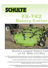Schulte - Model FX742 - Rotary Cutter Brochure