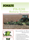 Schulte - Model FX530 - Rotary Cutter Brochure
