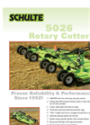 Schulte - Model 5026 - Rotary Cutter Brochure