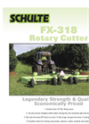 Schulte - Model FX-318 - Rotary Cutter Brochure