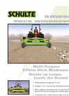 Model SRW800 - Windrower Brochure