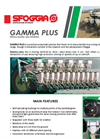Gamma Plus - Precision Pneumatic Planters Brochure