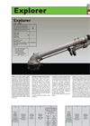 Explorer - Model 10505 - Sprinkler Brochure