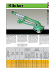 Klicker - Model 10548 - Sprinkler Brochure