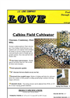 JE Love - Field Cultivator Brochure