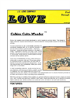 Culta - Model CW - Rotary Rod Weeders Brochure