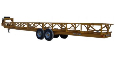 Hay King - 6 Bale Neck Trailer