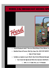 Herd I-92 - Broadcast Seeder and Spreader Brochure