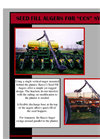 "Seed Fill Augers for ""CCS"" Systems - Brochure"