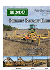 Phillips - Model 3000 and 4500 - Rotary Harrow  Brochure