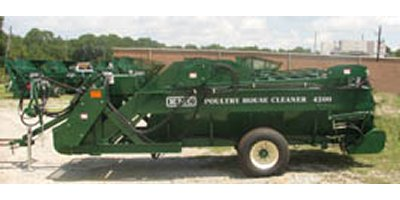 KMC  - Model 4200 - Poultry House Cleanout Machines