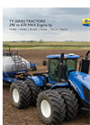 New Holland - Model T9 Series 4WD – Tier 4B - Tractors Brochure