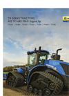 New Holland - T9 Series – Tier 4B - 4WD Tractors - Brochure