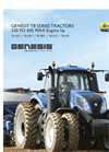 GENESIS - Model T8 Series – Tier 4B - Tractors Brochure