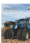 New Holland GENESIS - T8 Series – Tier 4A - Tractors - Brochure