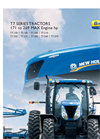 New Holland - T7 Series – Tier 4A - Tractors - Brochure